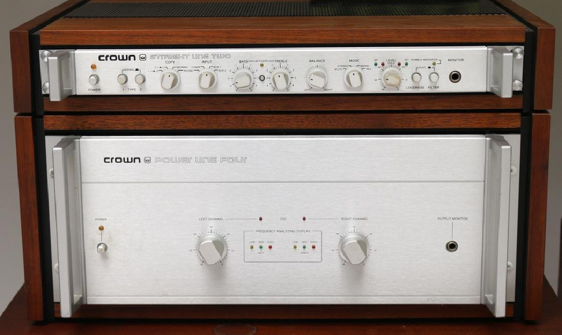 VINTAGE STEREO SYSTEM - 7