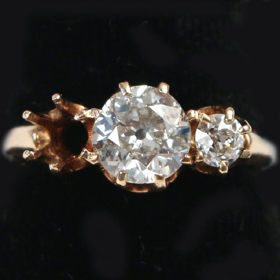 0.95ct DIAMOND & GOLD RING