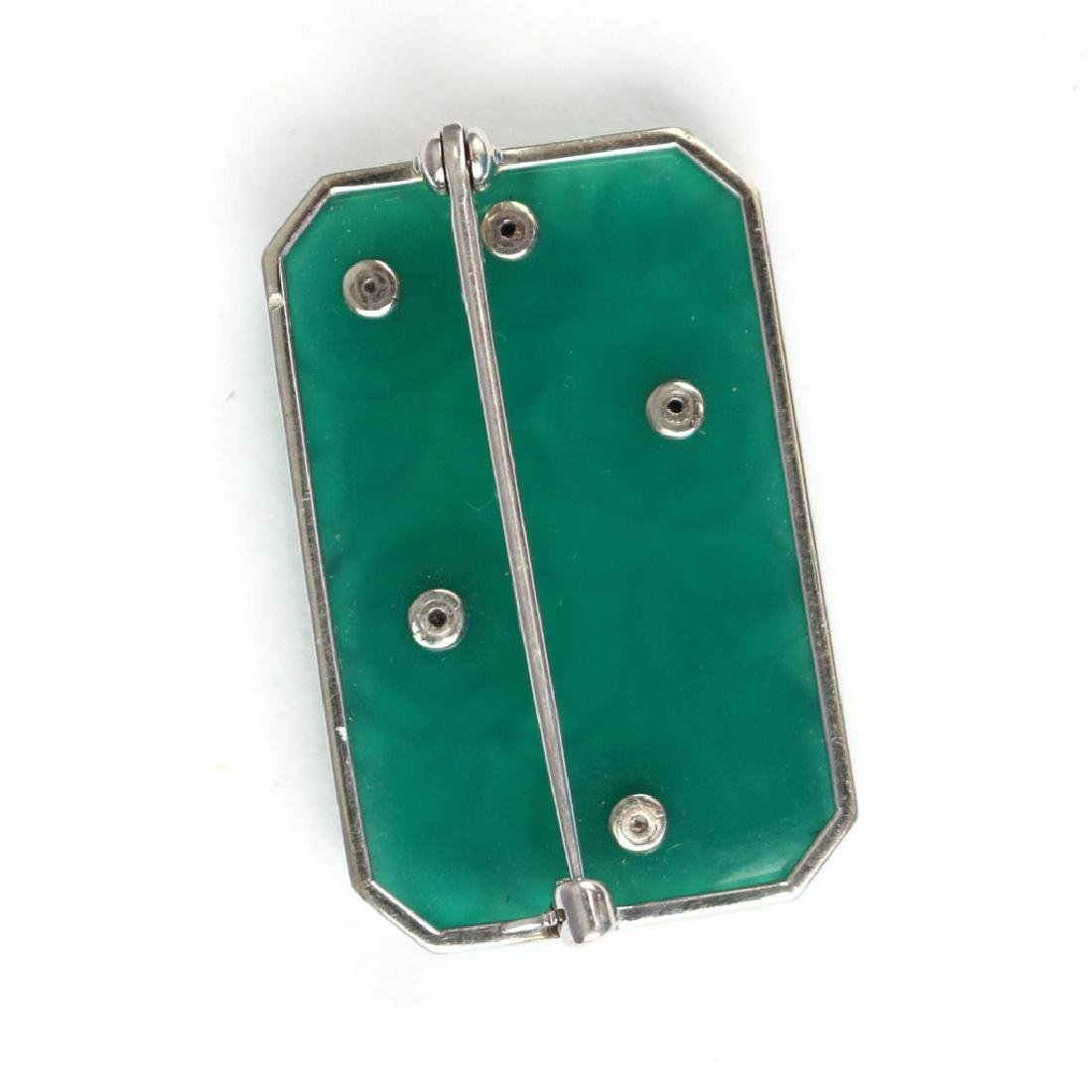 PLIQUE-A-JOUR & DIAMOND PIN - 3