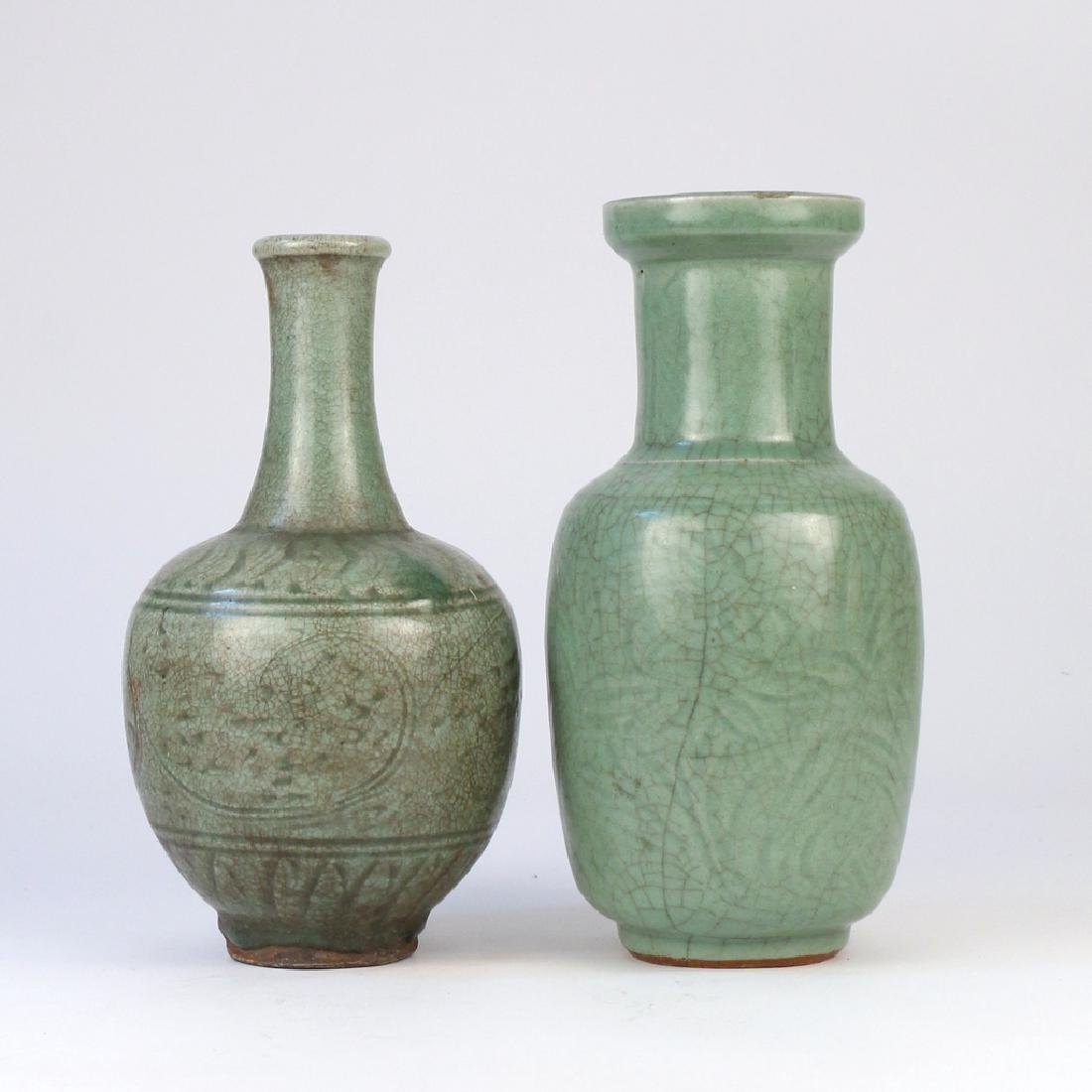 (4pc) EARLY CHINESE CELADON VESSELS - 3