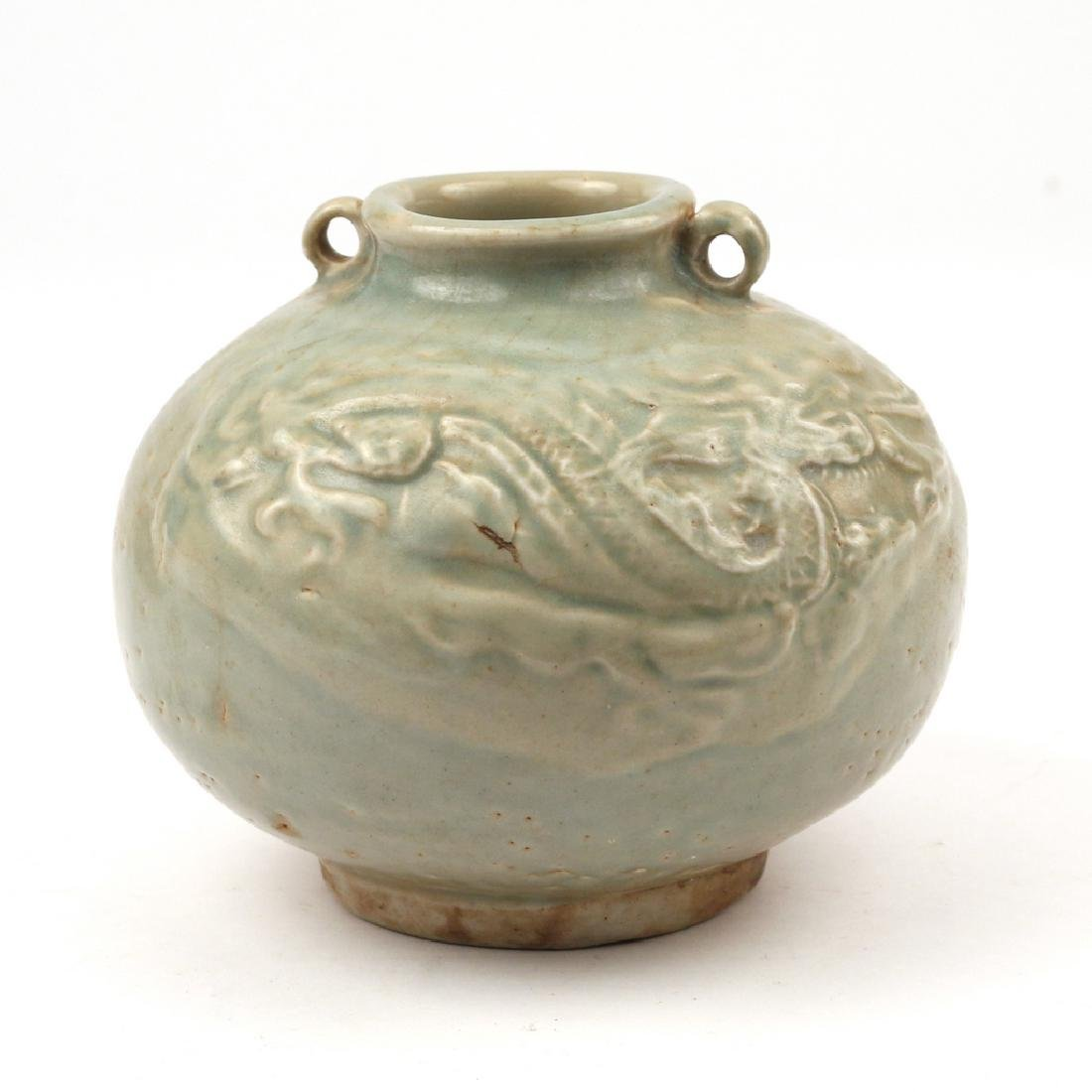 (3pc) CHINESE CELADON VESSELS - 9