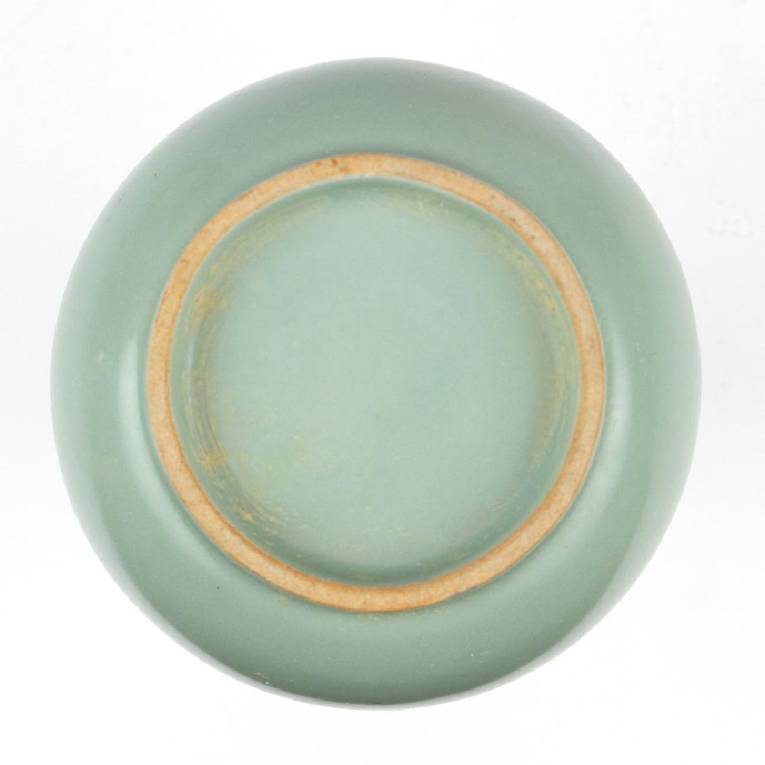 CHINESE CELADON BOTTLE VASE - 5