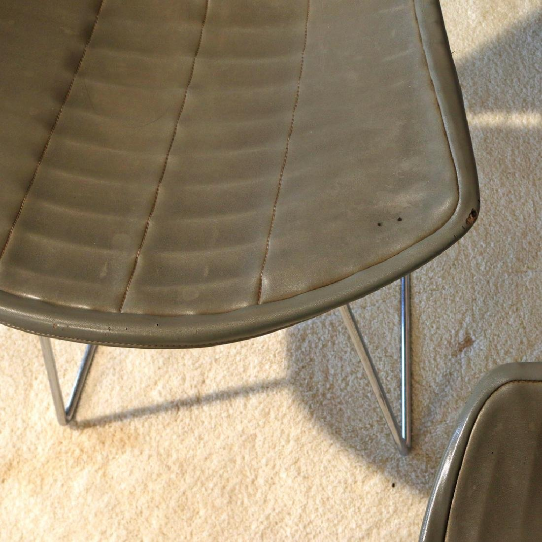 (4pc) BERTOIA FOR KNOLL INTERNATIONAL WIRE CHAIRS - 4