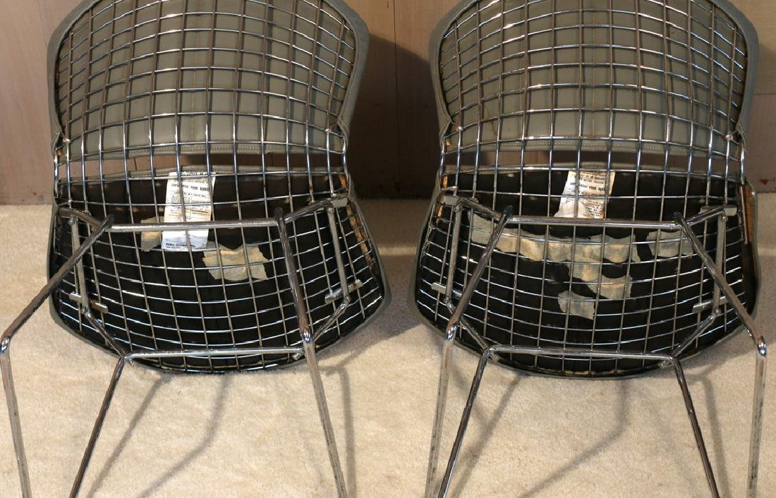 (4pc) BERTOIA FOR KNOLL INTERNATIONAL WIRE CHAIRS - 6