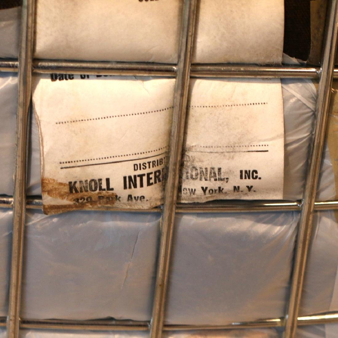 (4pc) BERTOIA FOR KNOLL INTERNATIONAL WIRE CHAIRS - 7