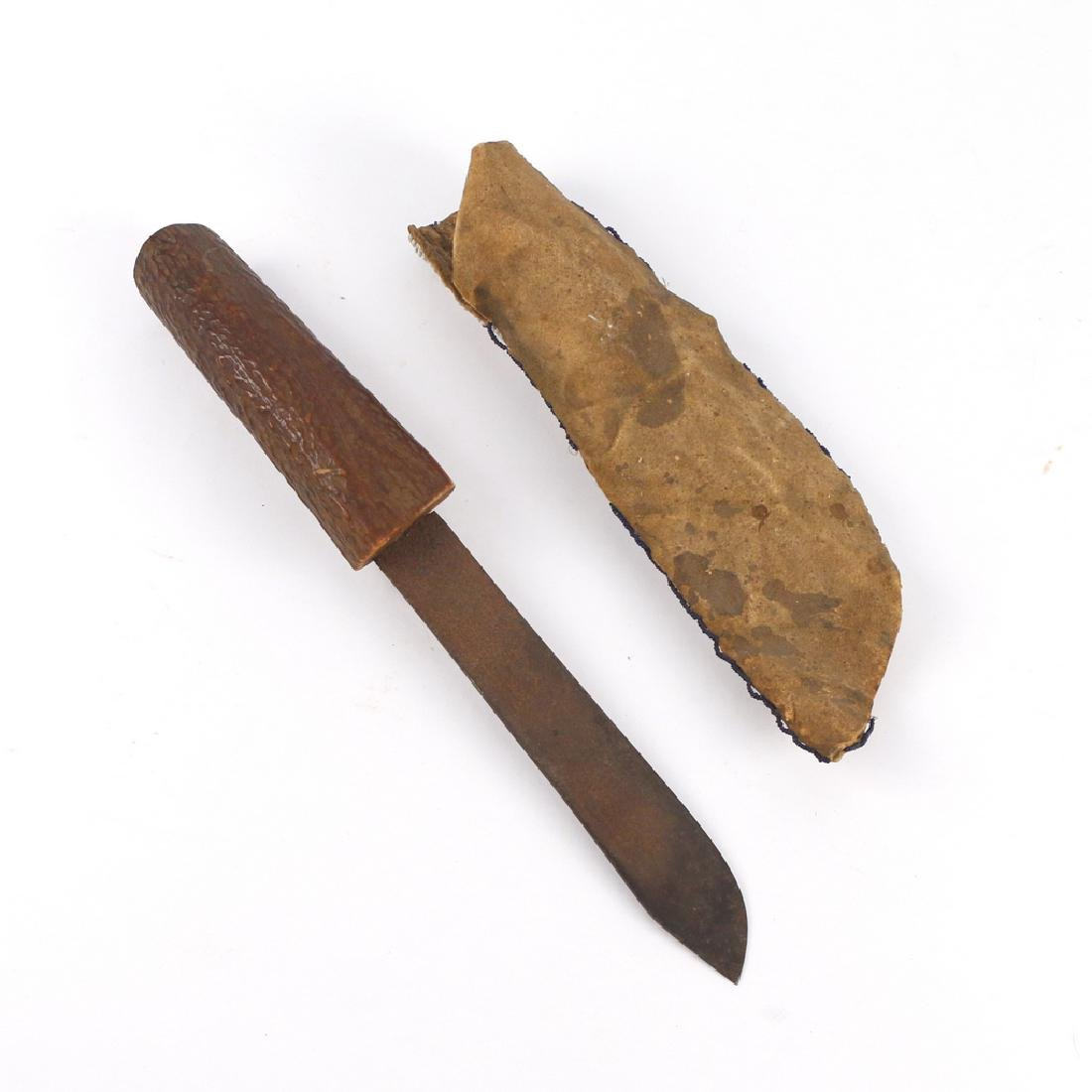 SOUTHWEST AMERICAN INDIAN KNIFE - 2