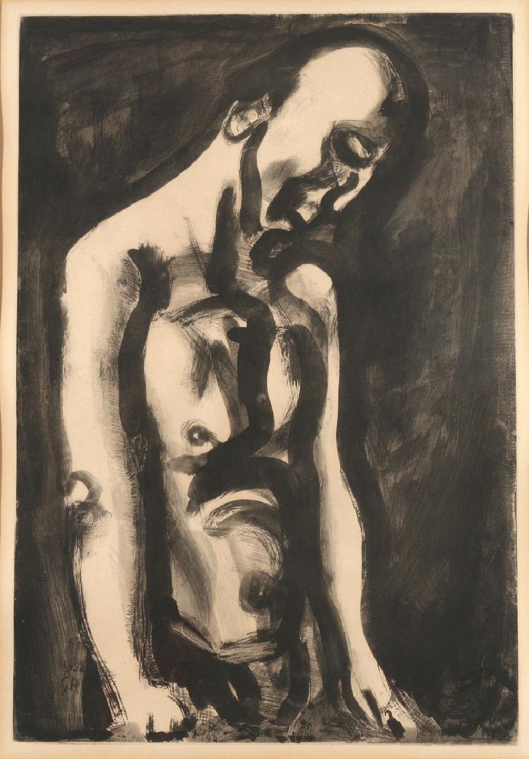 GEORGES ROUAULT (French, 1904-2002), - 2