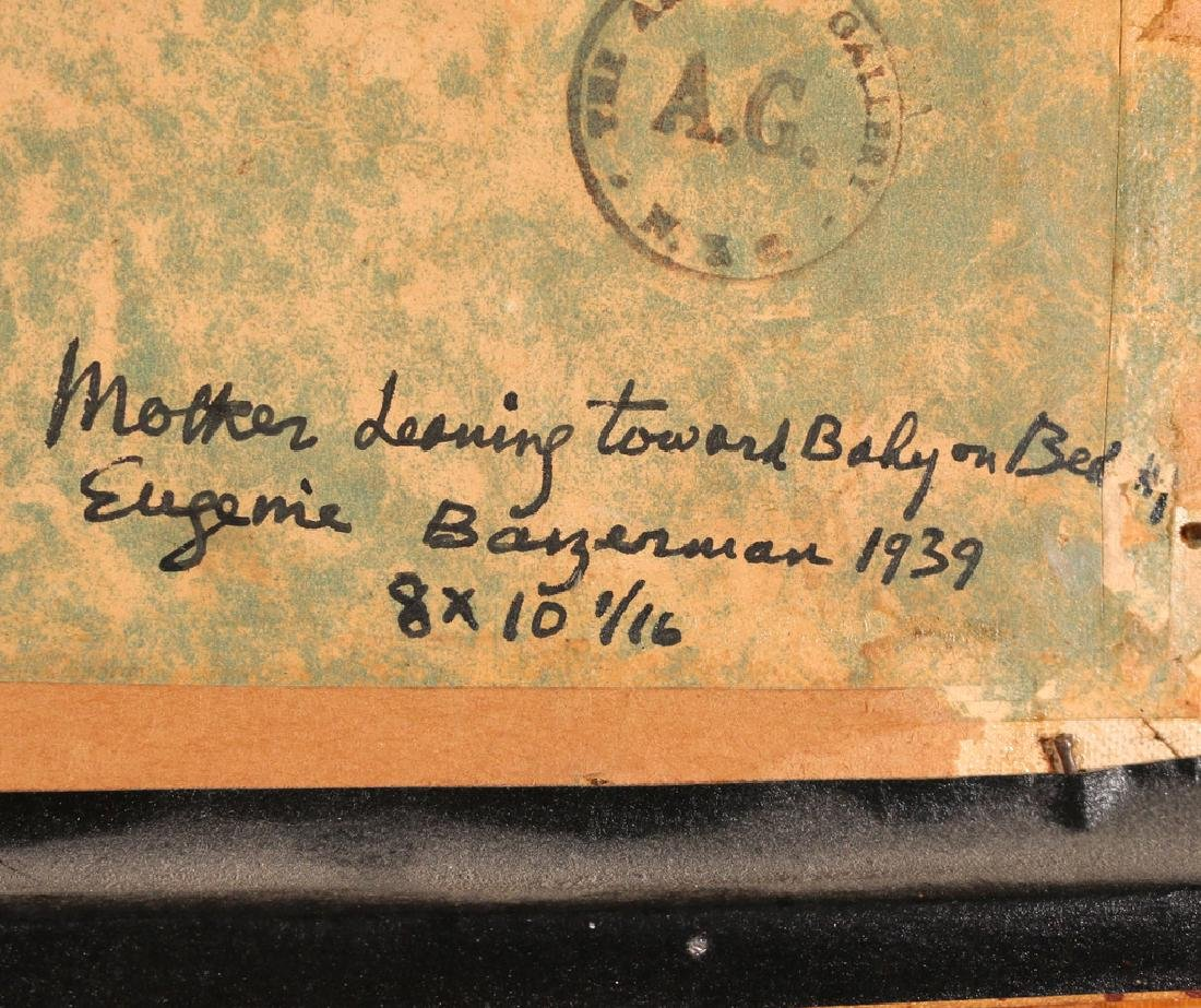 EUGENIE BAIZERMAN (American, 1899-1949) - 4