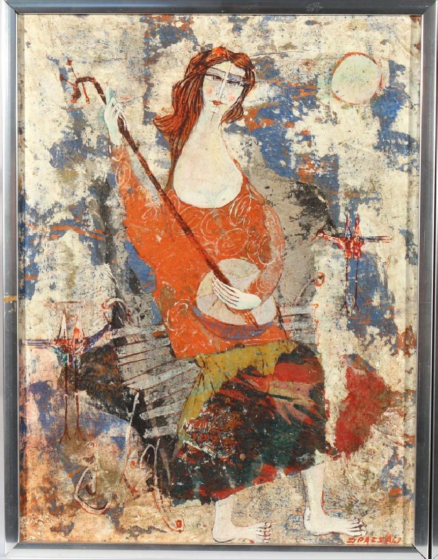(2pc) LUCIANO SPAZZALI (Italian, 1911-) - 3
