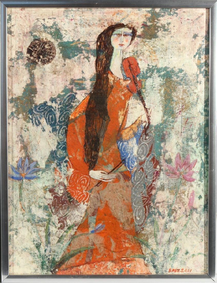 (2pc) LUCIANO SPAZZALI (Italian, 1911-) - 4