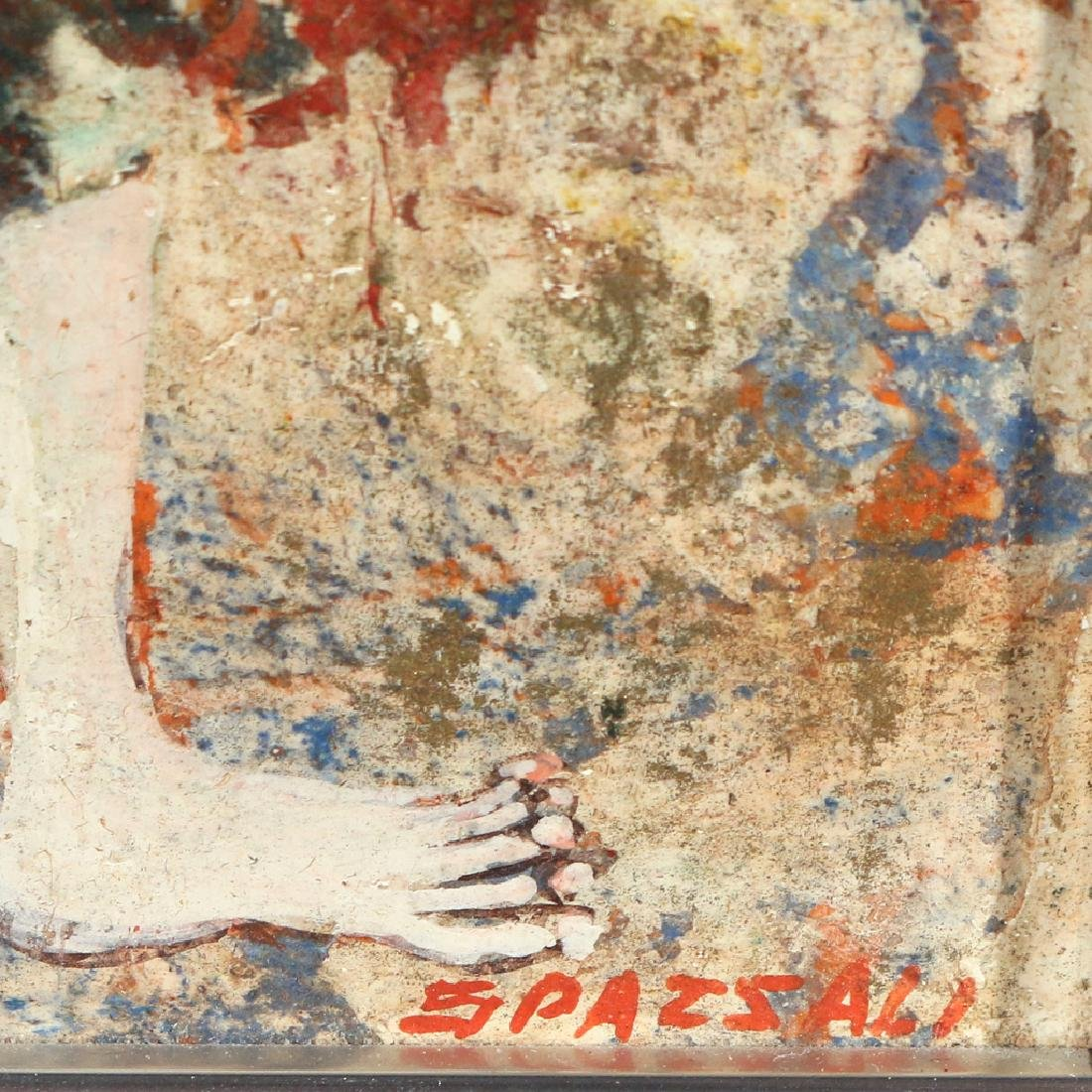 (2pc) LUCIANO SPAZZALI (Italian, 1911-) - 5