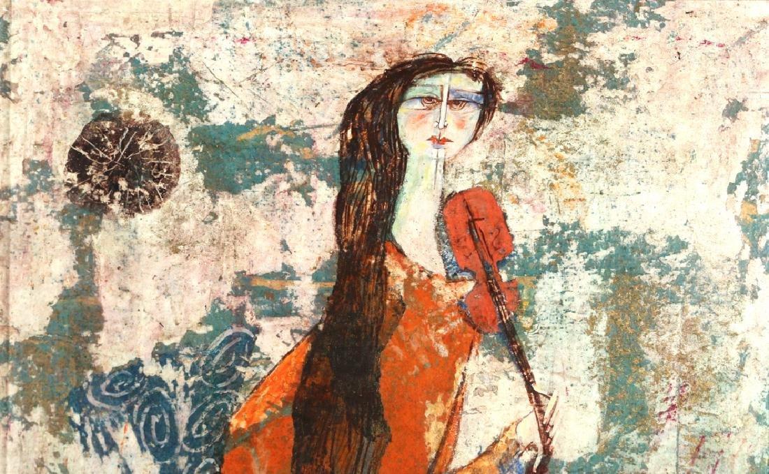 (2pc) LUCIANO SPAZZALI (Italian, 1911-) - 7