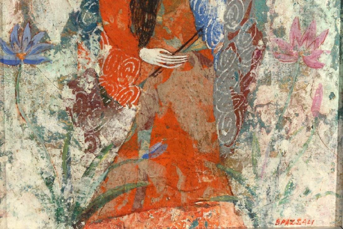 (2pc) LUCIANO SPAZZALI (Italian, 1911-) - 8