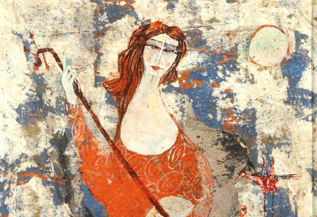 (2pc) LUCIANO SPAZZALI (Italian, 1911-) - 9