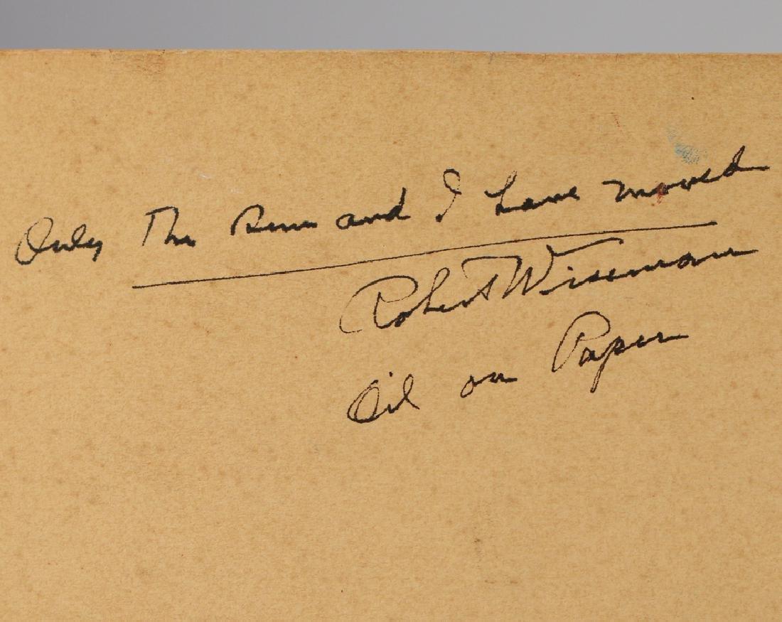 ROBERT CUMMINGS WISEMAN (American, 1891-) - 8