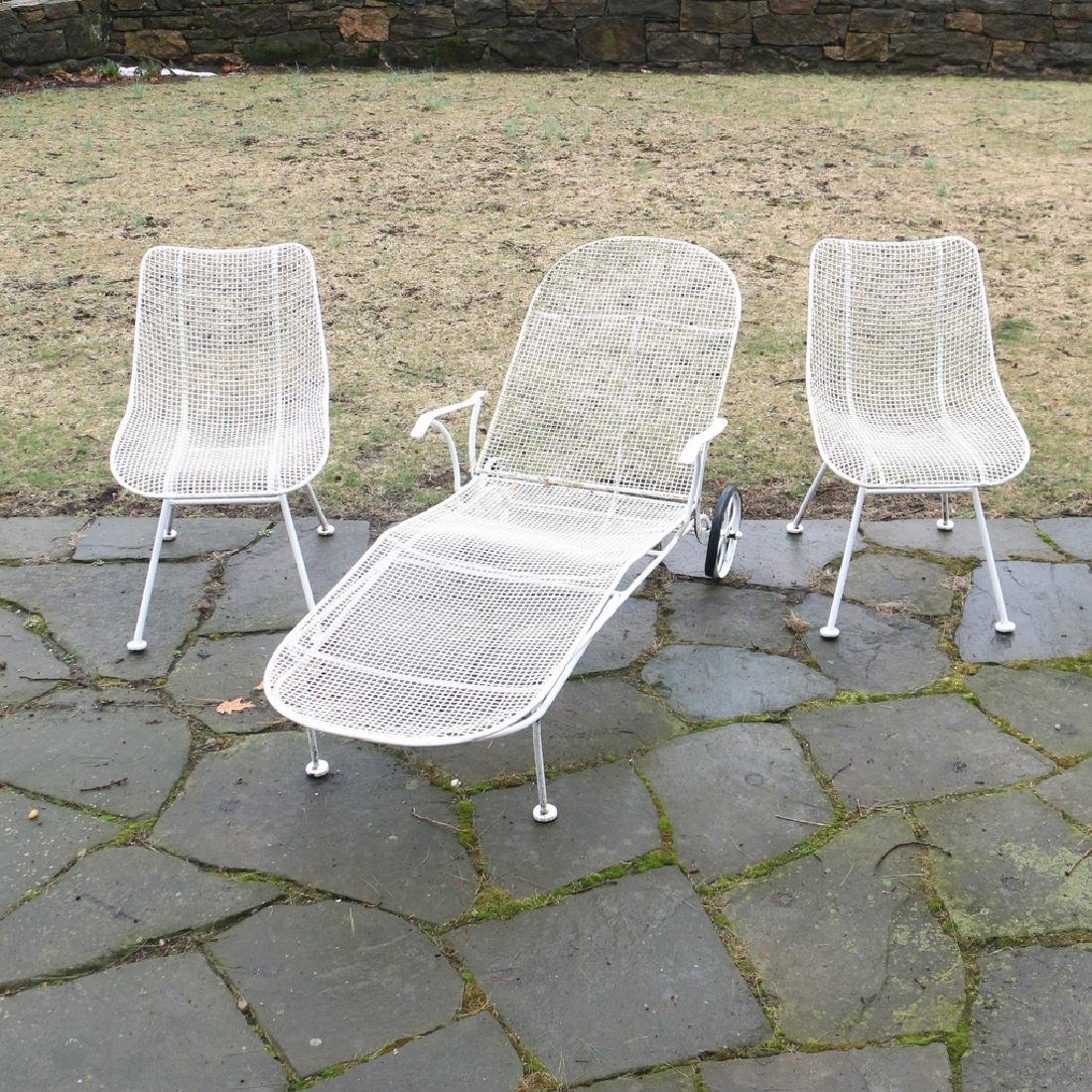 (9pc) MISC. RUSSEL WOODARD PATIO FURNITURE - 4