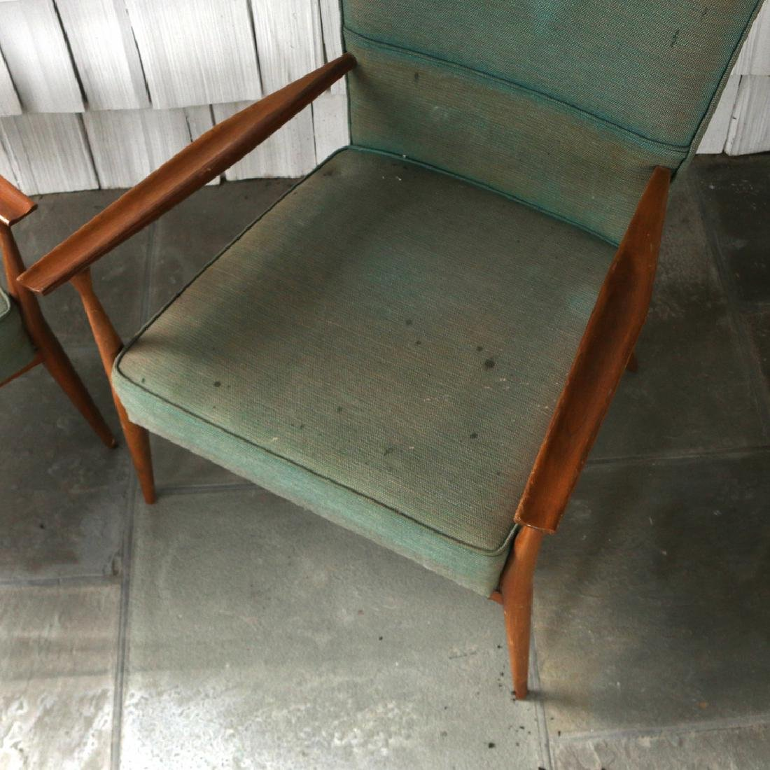 (2pc) PAUL MCCOBB LOUNGE CHAIRS - 3