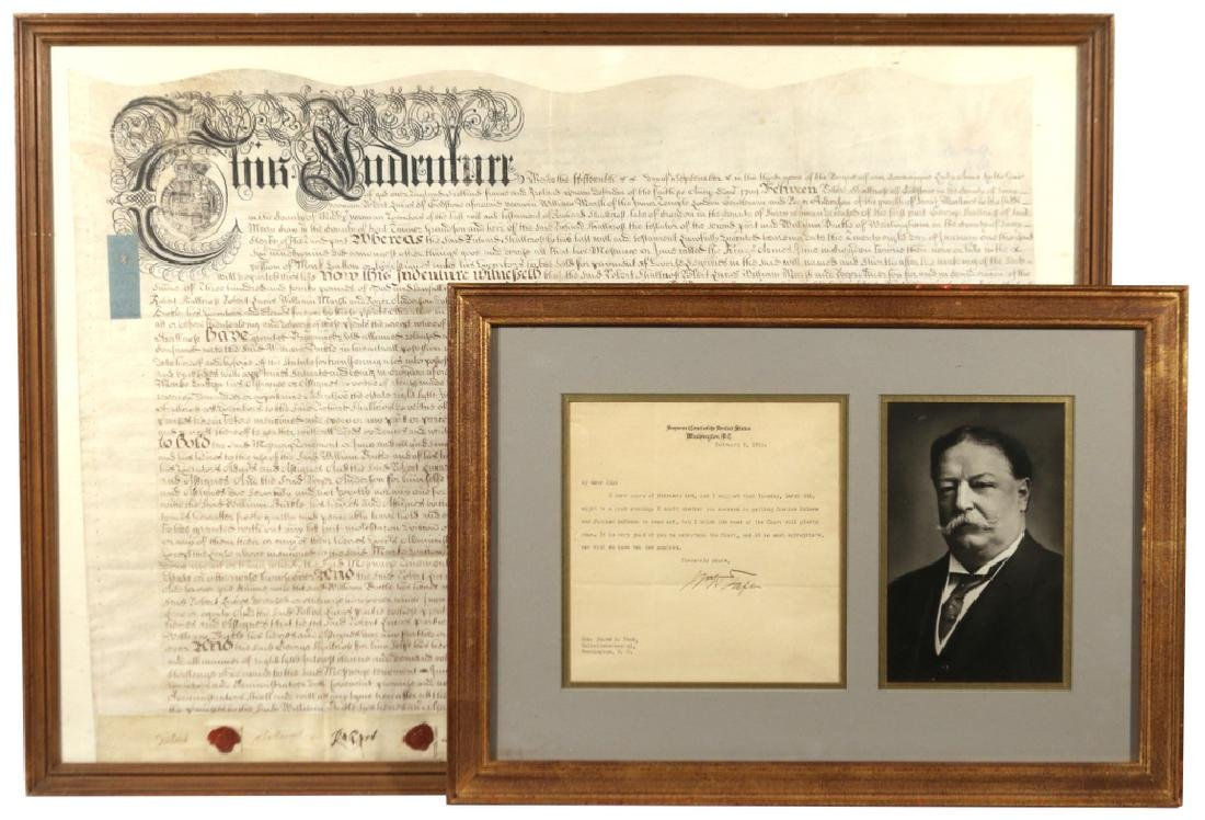 (2pc) HISTORICAL DOCUMENTS