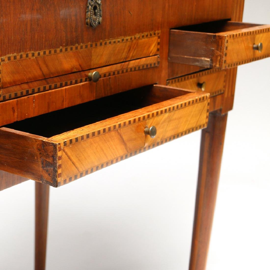 FRENCH MARQUETRY DRESSING (POUDREUSE) TABLE - 5