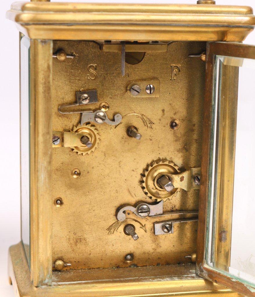 (3pc) CARRIAGE CLOCKS - 5