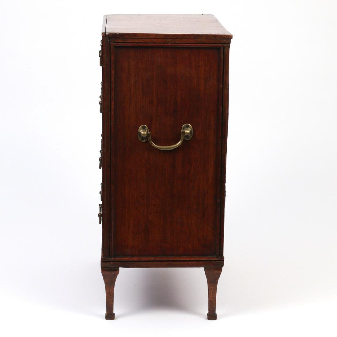 FRENCH DIRECTOIRE MINIATURE CHEST OF DRAWERS - 3