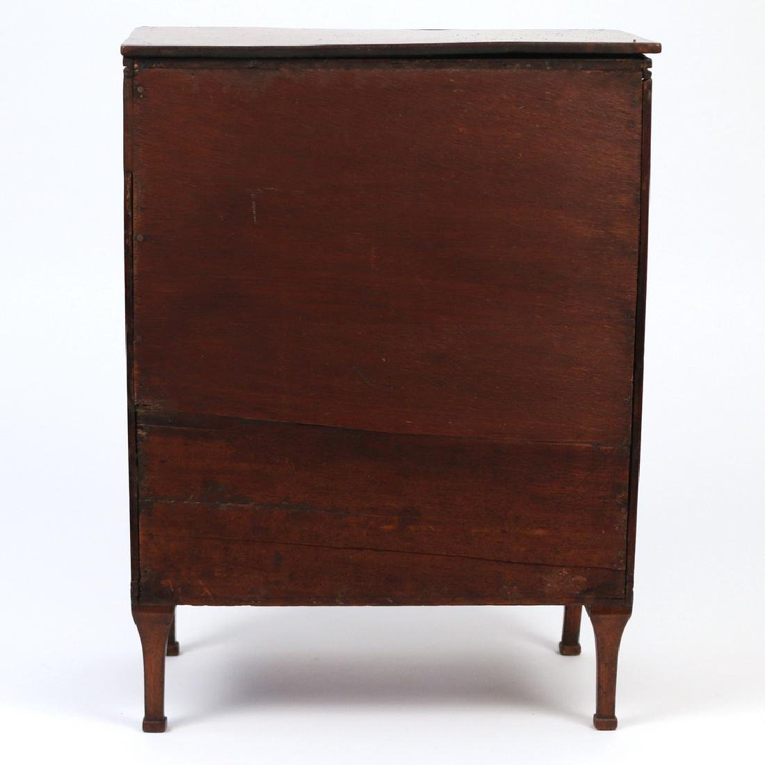FRENCH DIRECTOIRE MINIATURE CHEST OF DRAWERS - 4