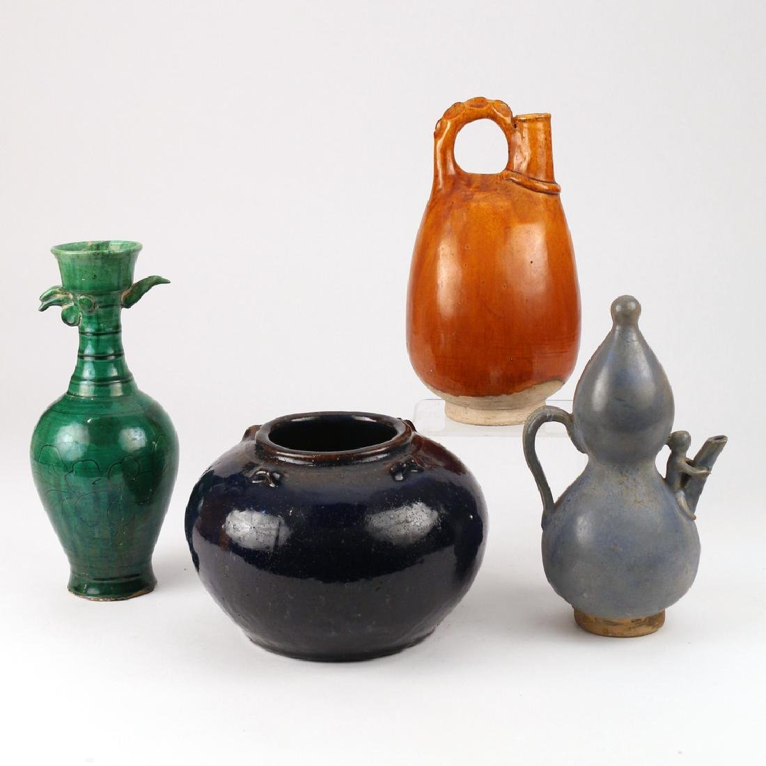 (4pc) CHINESE EARLY OR EARLY-STYLE CERAMICS - 2