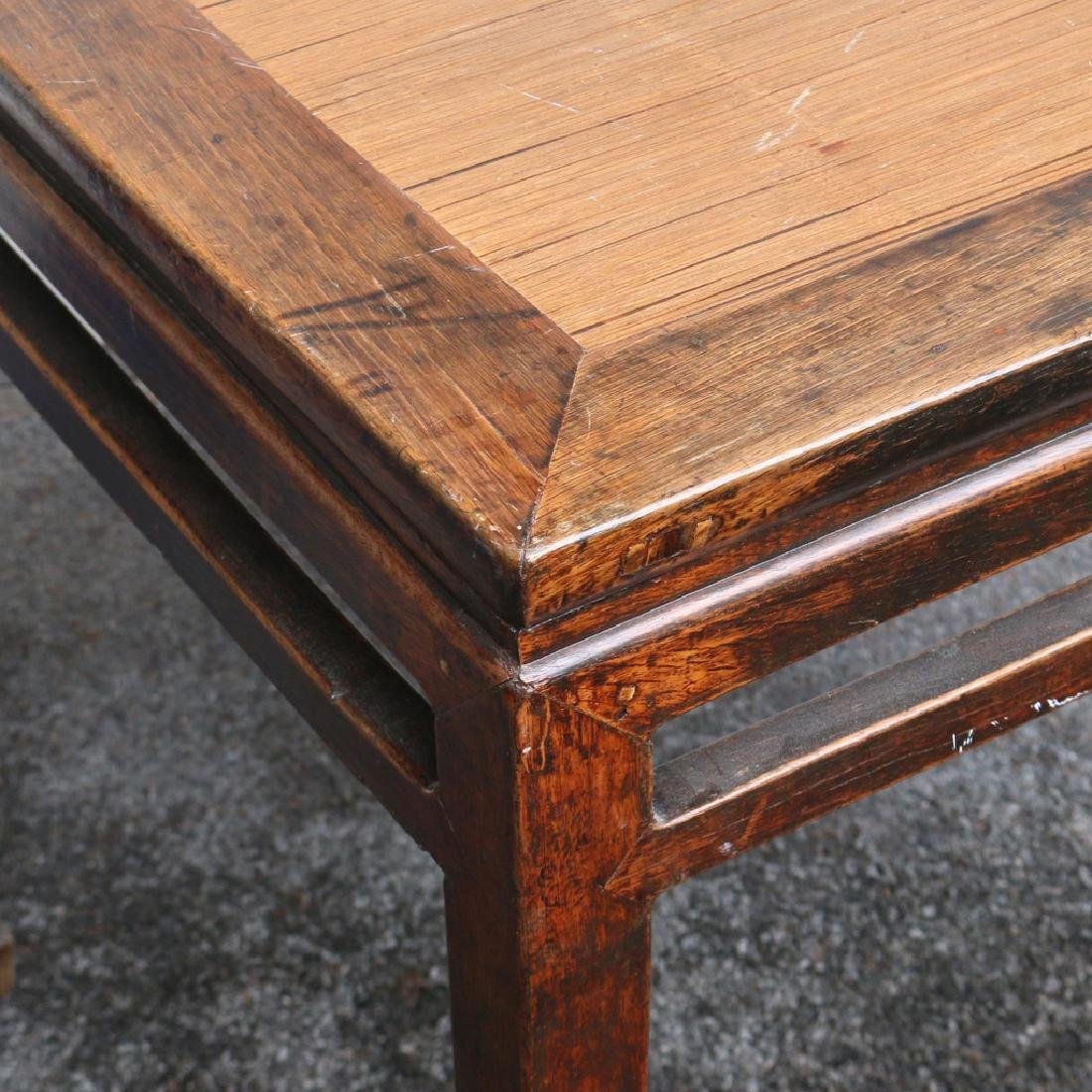 CHINESE SQUARE END TABLE - 2