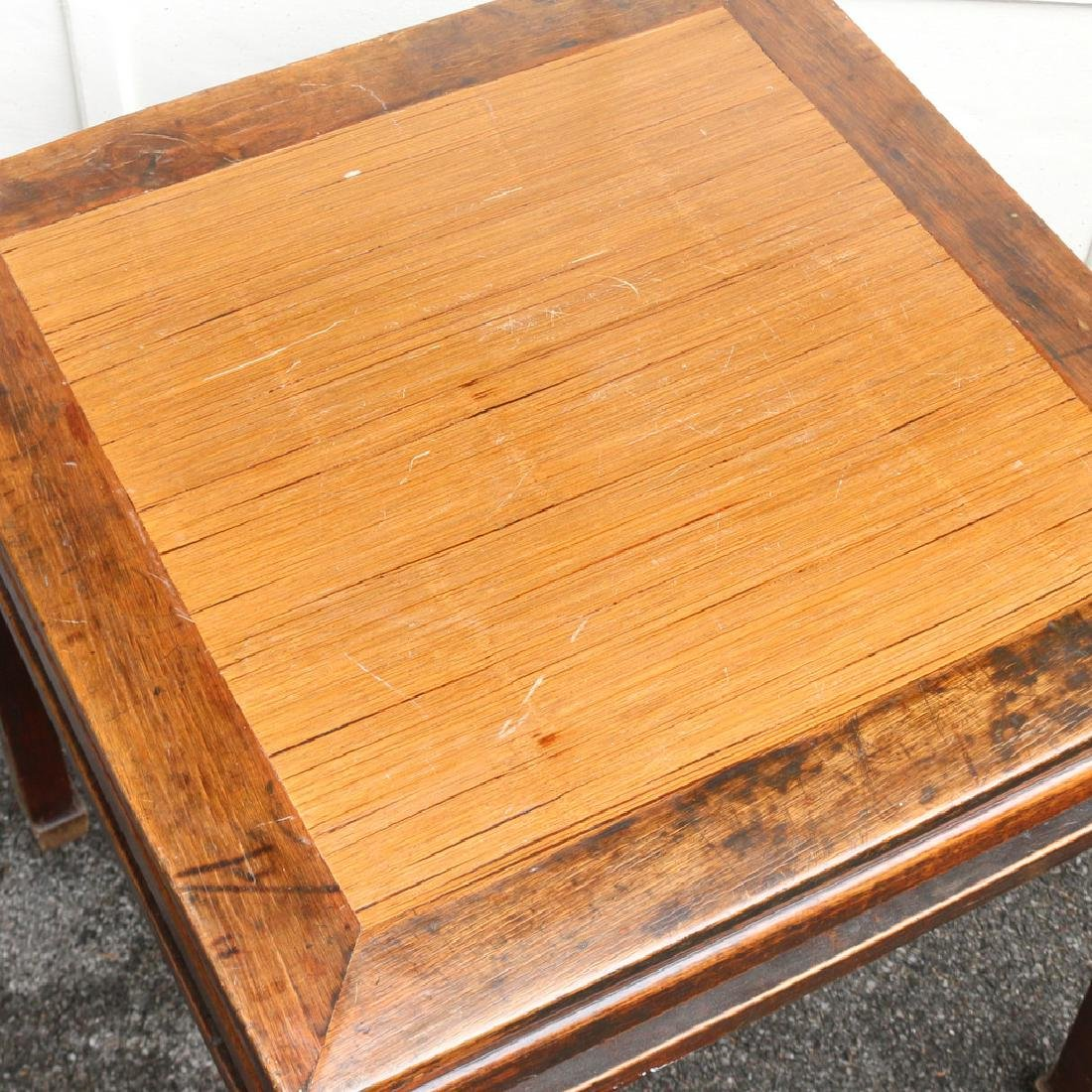 CHINESE SQUARE END TABLE - 3