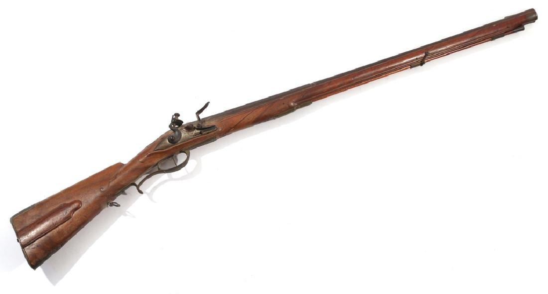 C.L. SCHINDLER GERMAN FLINTLOCK RIFLE