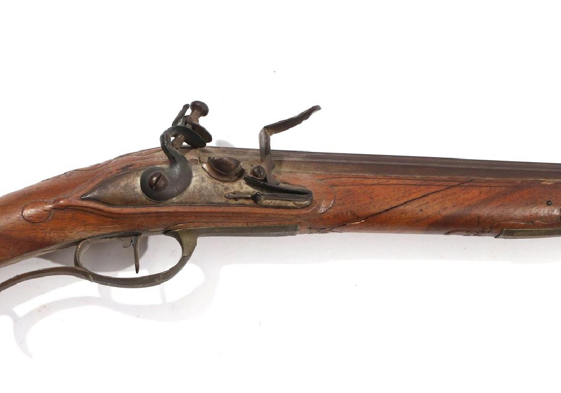 C.L. SCHINDLER GERMAN FLINTLOCK RIFLE - 2