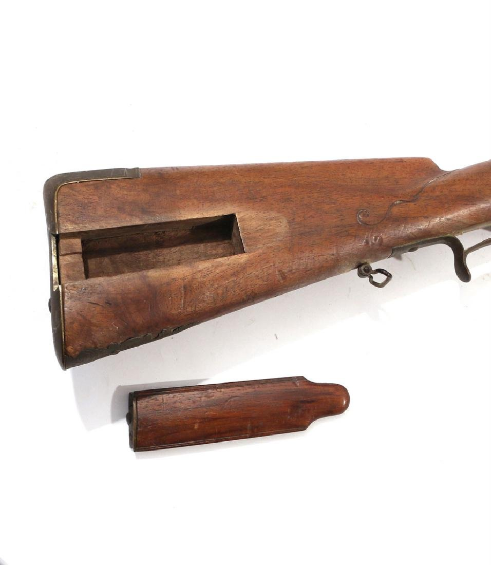 C.L. SCHINDLER GERMAN FLINTLOCK RIFLE - 3