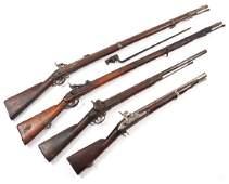 (4pc) ANTIQUE GUNS