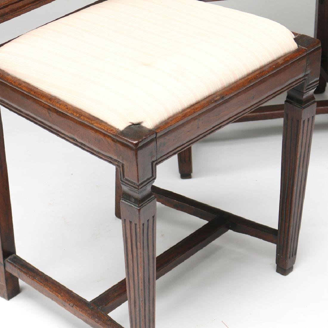 (4pc) TWO PAIRS OF ANTIQUE SIDECHAIRS - 3