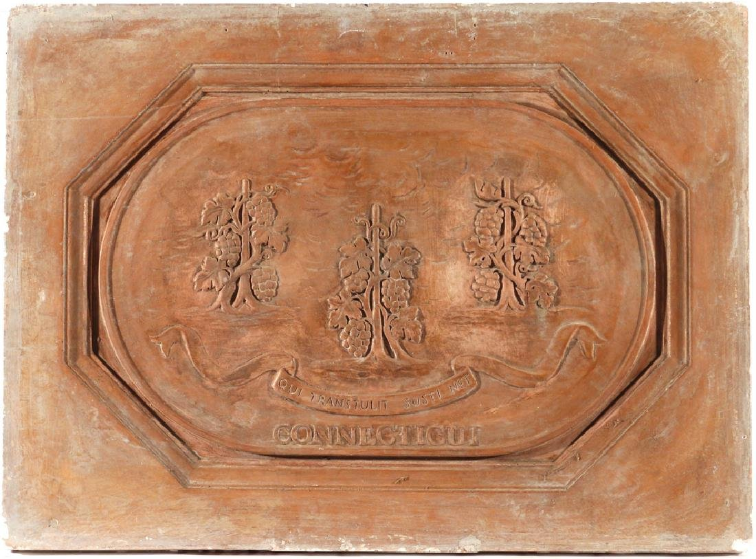 (13pc) PLAQUES OF THE 13 COLONIES - 6