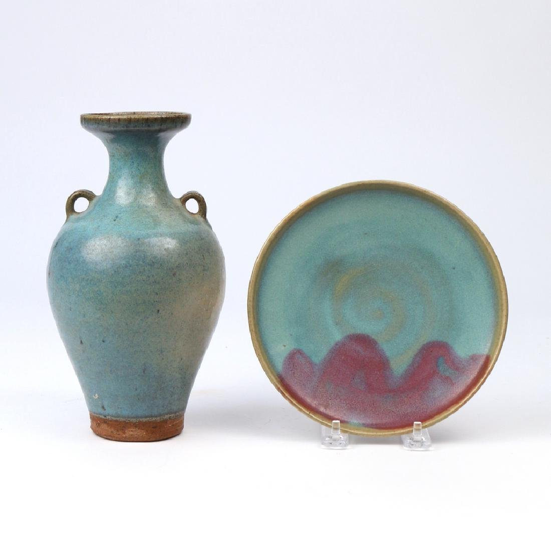 (2pc) CHINESE JUN WARE CERAMICS