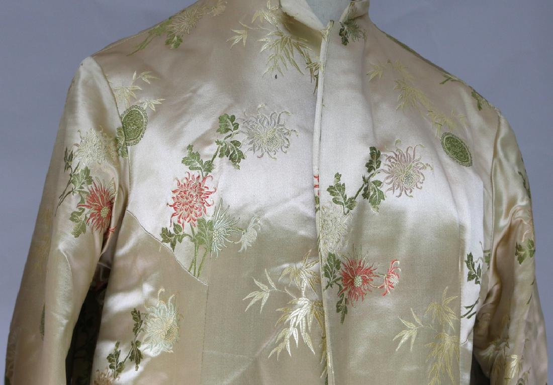(2pc) CHINESE EMBROIDERED ROBES - 2