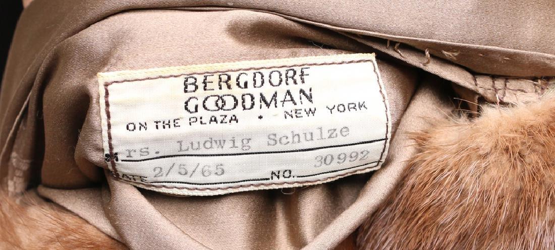 BERGDORF GOODMAN FUR COAT - 4