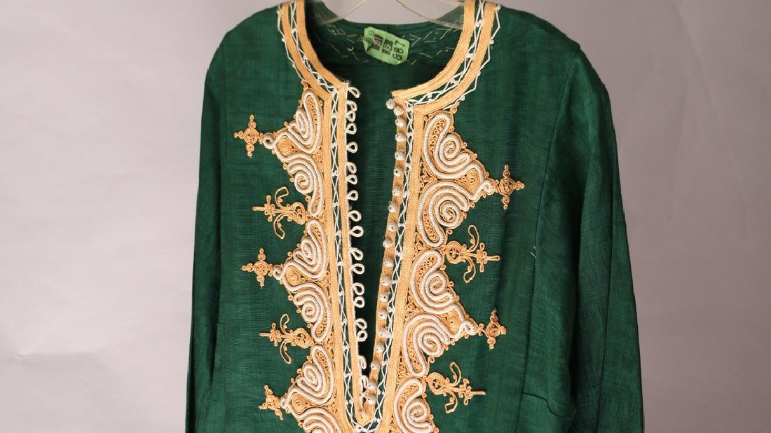(3pc) INDIAN EMBROIDERED ROBES - 2