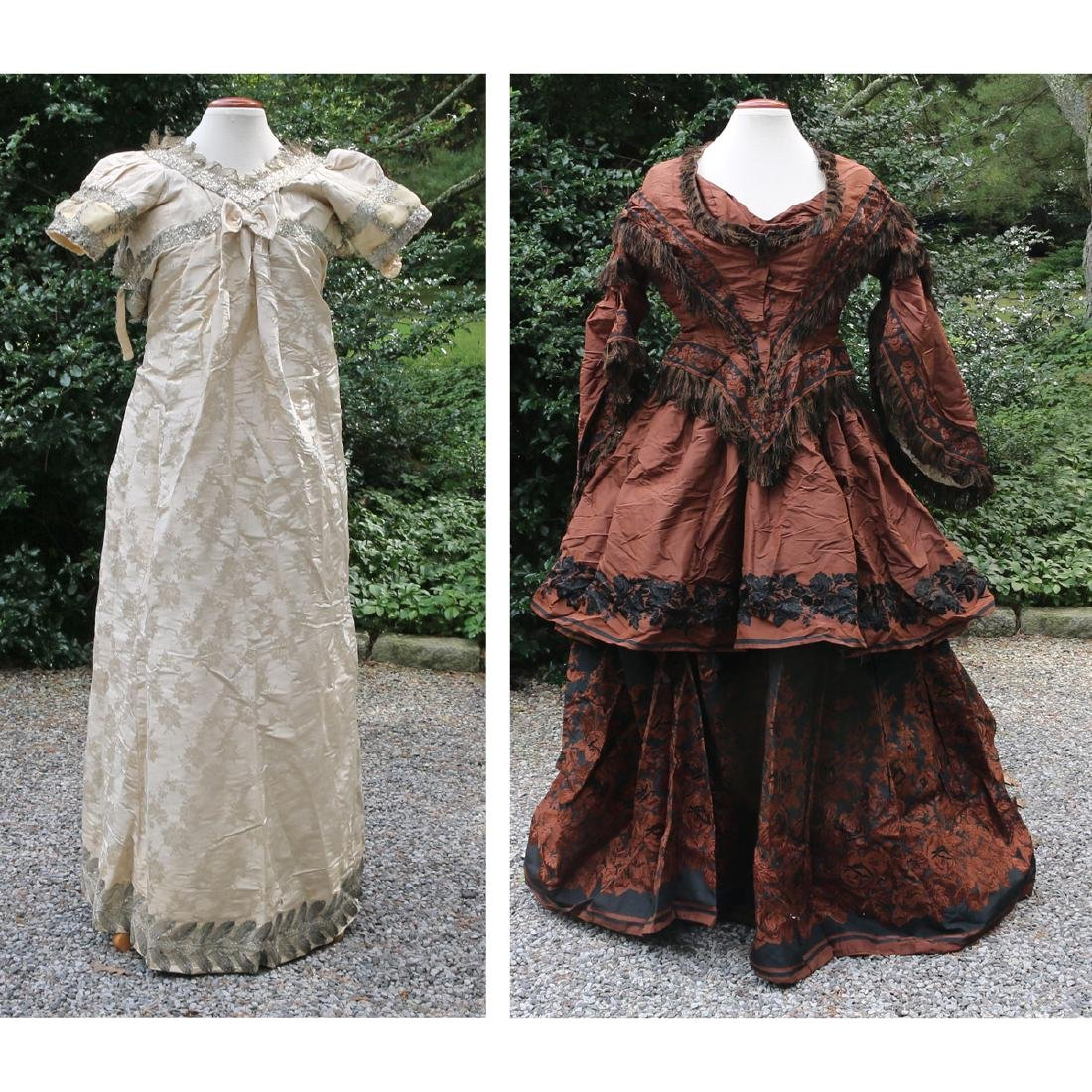 (2pc) VICTORIAN LADY'S GARMENTS