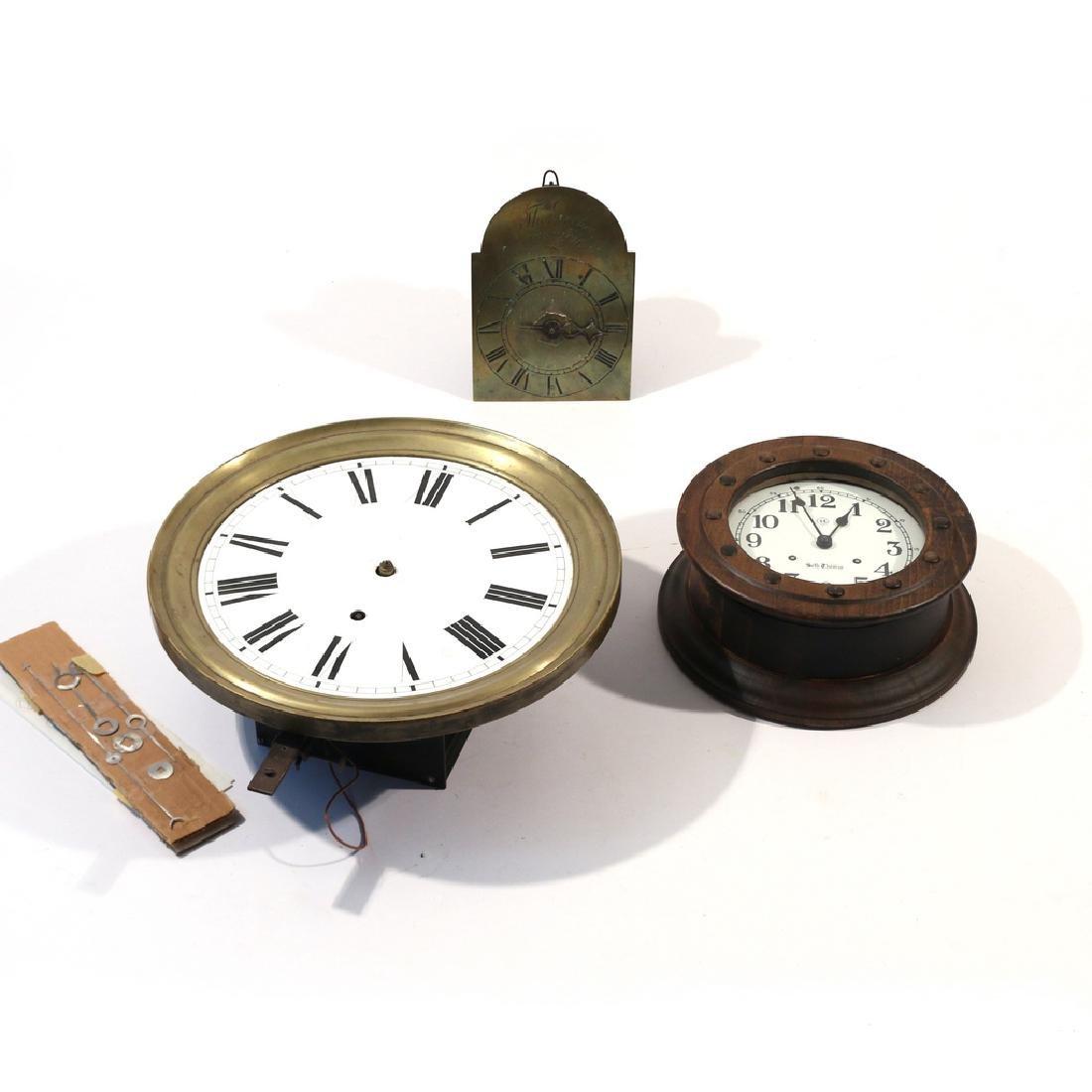 (3pc) MISC. CLOCK MOVEMENTS