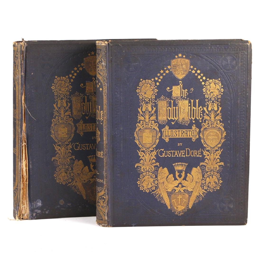 (2vols) GUSTAVE DORÉ HOLY BIBLE