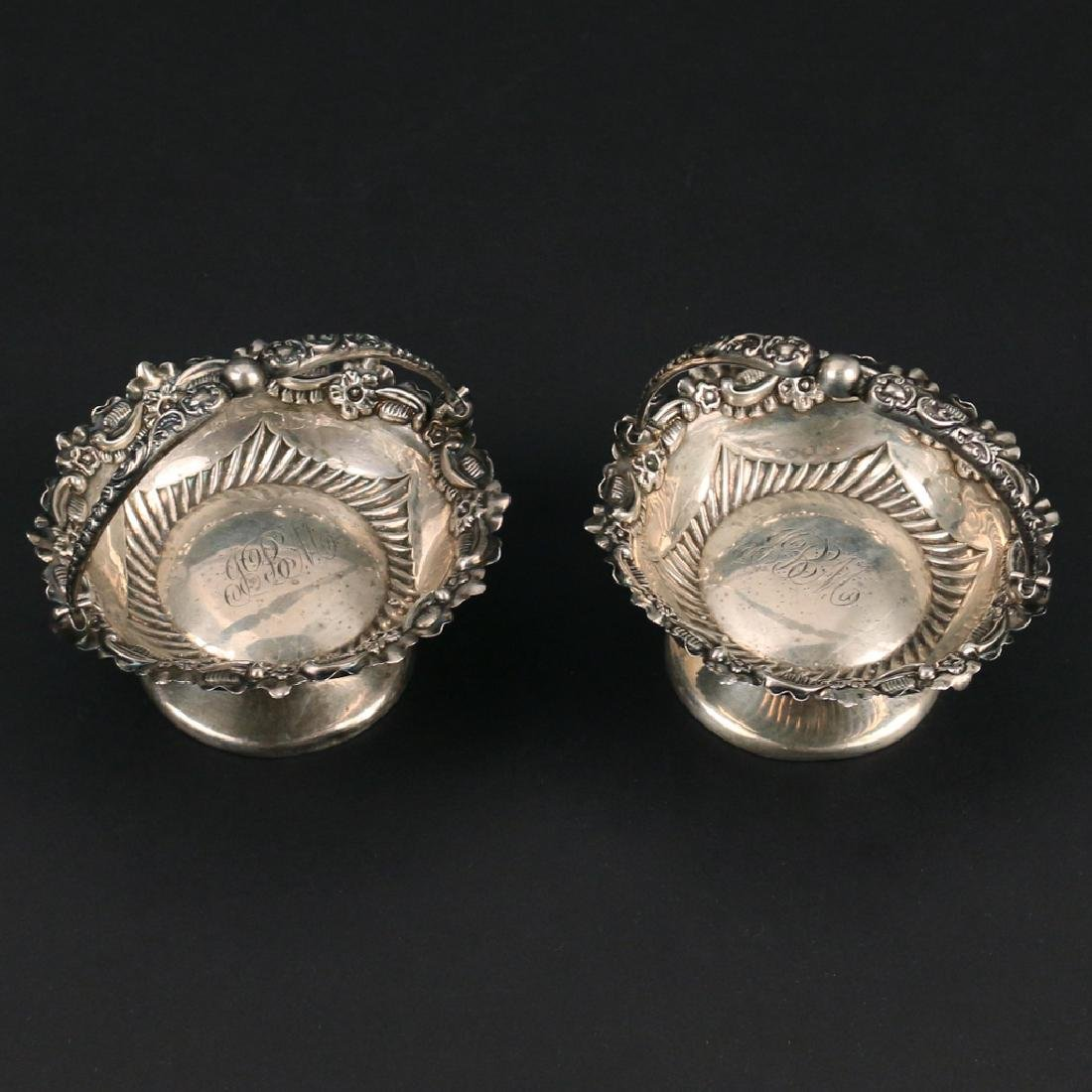 (14pc) STERLING NUT DISHES - 2