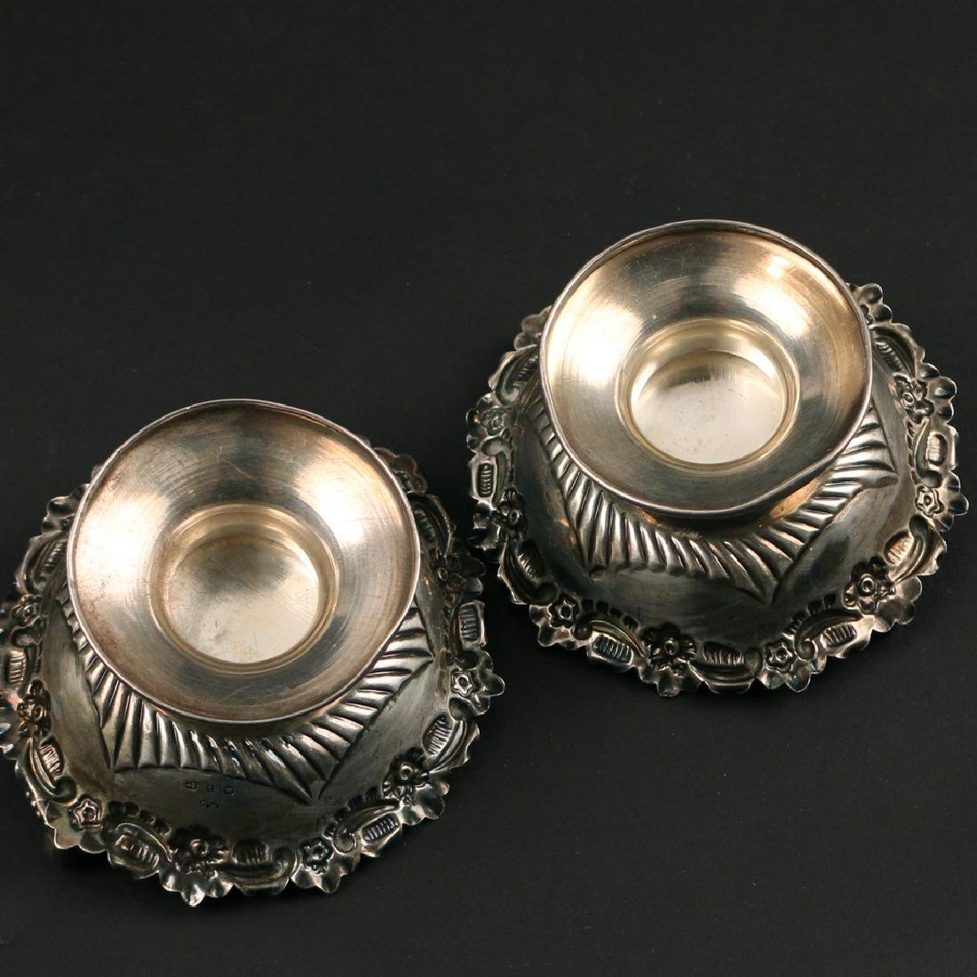 (14pc) STERLING NUT DISHES - 4
