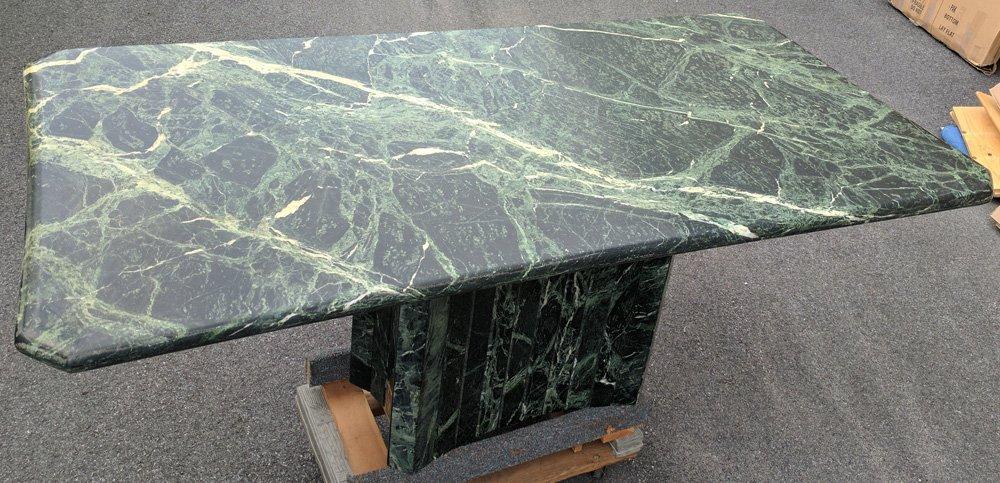 VERDE ANTICO PEDESTAL TABLE - 3