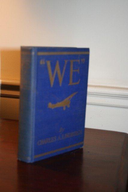 16: CHARLES A. LINDBERGH, 'WE', N.Y.1927, 1st ED.;
