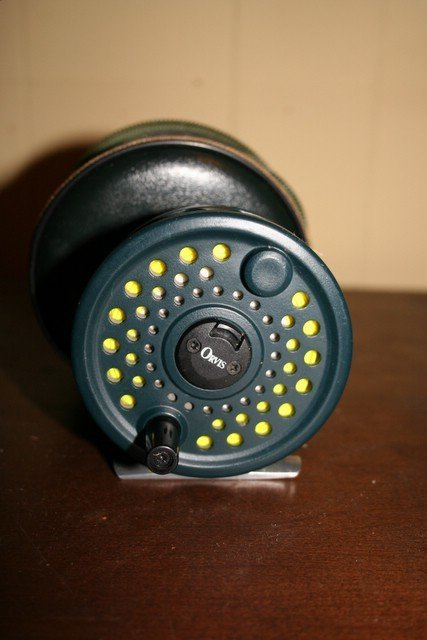 24: ORVIS 'ROCKY MOUNTAIN 11' FLY REEL, GOOD COND., W