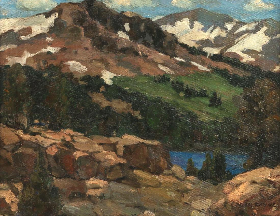 EDGAR ALWIN PAYNE (American, 1883-1947)