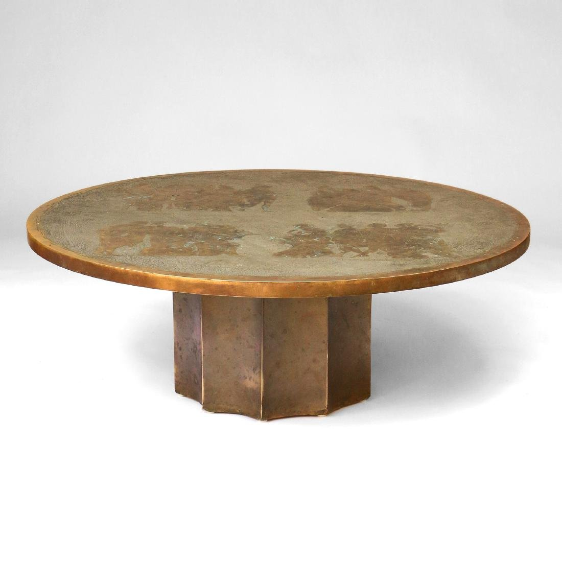 RARE PHILIP & KELVIN LAVERNE COCKTAIL TABLE
