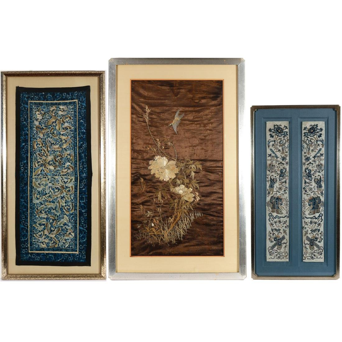 (3pc) ASIAN EMBROIDERIES